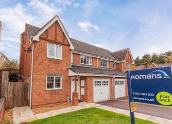Thumbnail 3 bed semi-detached house for sale in Ramsdell Road, Fleet, Hampshire