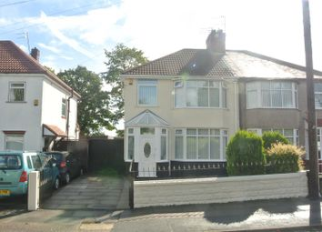 Thumbnail 3 bed semi-detached house for sale in Swanside Road, Huyton, Liverpool