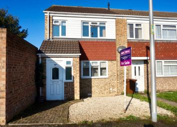 Thumbnail 2 bed end terrace house for sale in Mardale Close, Gillingham