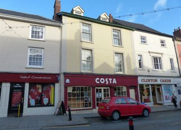 Thumbnail 2 bedroom flat to rent in High Street, Brecon