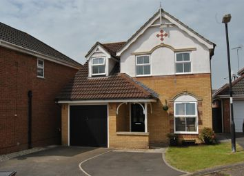Thumbnail 3 bed detached house for sale in Woburn Close, Swindon