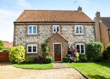 Thumbnail 4 bed detached house for sale in Wretton Road, Boughton, King's Lynn