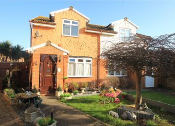 Thumbnail 3 bed semi-detached house for sale in Denison Mews, Lower Stoke, Rochester, Kent