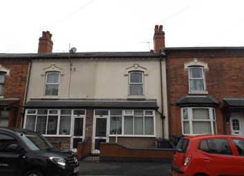 Thumbnail 3 bedroom terraced house for sale in Bowyer Road, Alum Rock, Birmingham, West Midlands