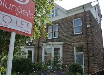 Thumbnail 4 bed semi-detached house to rent in Whirlowdale Road, Sheffield