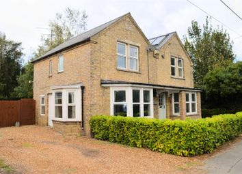 Thumbnail 4 bed detached house for sale in Meadowgate Lane, Elm, Wisbech