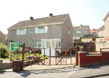 Thumbnail 2 bedroom semi-detached house for sale in Lon Camlad, Morriston, Swansea
