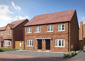 Thumbnail 3 bed semi-detached house for sale in Hayfields, Upton Snodsbury Road, Pinvin