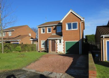 Thumbnail 4 bed detached house for sale in Claverley Drive, Backworth, Newcastle Upon Tyne