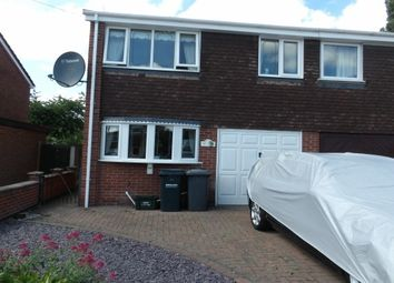 Thumbnail 4 bedroom semi-detached house to rent in Valeside Gardens, Colwick, Nottingham