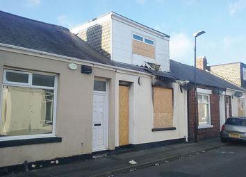Thumbnail 3 bedroom terraced house for sale in Garnet Street, Sunderland