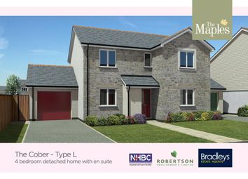 Thumbnail 4 bed detached house for sale in Kew Trenals, Park Bottom, Redruth, Cornwall
