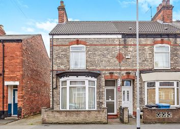 Thumbnail 2 bedroom end terrace house for sale in Edgecumbe Street, Hull
