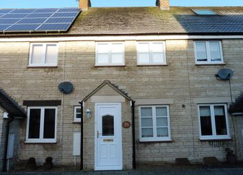 Thumbnail 2 bed terraced house to rent in Hazel Close, Witney, Oxon