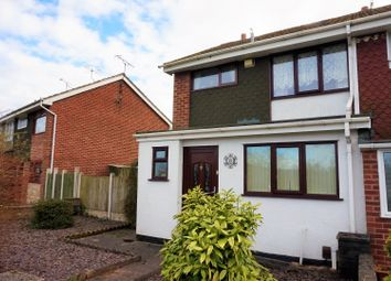 Thumbnail 3 bed semi-detached house for sale in Keyworth Walk, Stoke-On-Trent