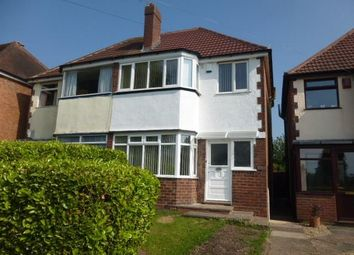 Thumbnail 3 bed semi-detached house to rent in Rectory Park Road, Sheldon, Birmingham