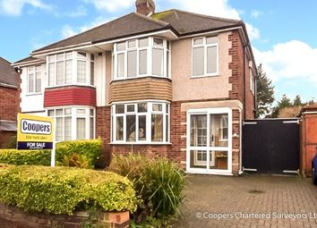 Thumbnail 3 bed semi-detached house for sale in Arnold Avenue, Styvechale, Coventry