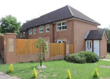 Thumbnail 1 bed end terrace house to rent in Badger Close, Guildford