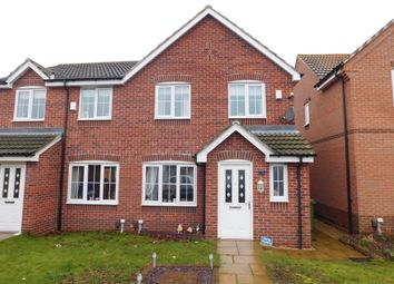 Thumbnail 3 bed semi-detached house for sale in Hanover Close, Forest Town, Mansfield