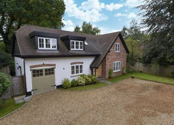 Thumbnail 4 bed detached house for sale in Finchampstead Road, Finchampstead, Berkshire