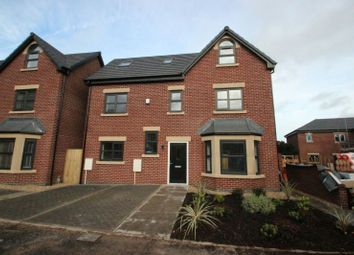 Thumbnail 4 bed detached house for sale in Roby Close, Sale
