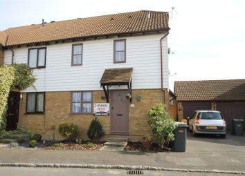 Thumbnail 1 bedroom end terrace house to rent in Coombe Close, Snodland, Kent