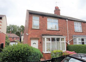 Thumbnail 3 bed semi-detached house for sale in Belgrave Mount, Wakefield