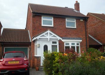 Thumbnail 3 bed detached house for sale in Nuneaton Drive, Hemlington, Middlesbrough, North Yorkshire.