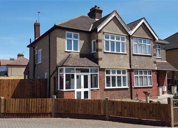 Thumbnail 3 bed semi-detached house to rent in Kenton Lane, Harrow Weald, Harrow