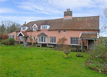 Thumbnail 4 bed farmhouse for sale in Links Farm House, Beccles Road, Thurlton, Norwich