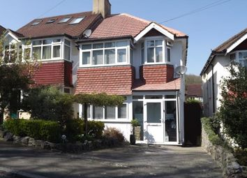 Thumbnail 3 bed semi-detached house for sale in Frensham Road, Kenley, Surrey