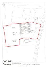 Thumbnail Land for sale in Brington Road, Old Weston