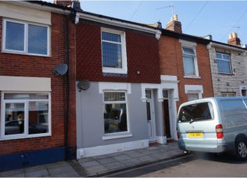 Thumbnail 2 bed terraced house for sale in Station Road, Portsmouth