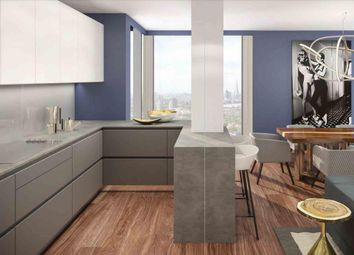 Thumbnail 1 bed flat for sale in Maine Tower, Harbour Central, London