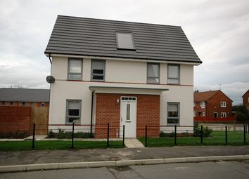 Thumbnail 3 bed detached house for sale in Byrewood Walk, Newcastle Upon Tyne