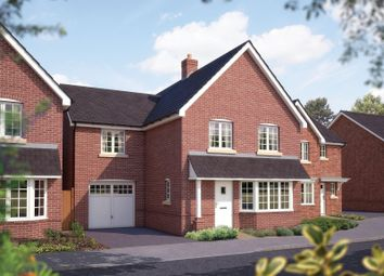 Thumbnail 4 bed detached house for sale in Duffet Drive, Winnersh