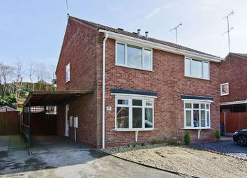 Thumbnail 2 bed semi-detached house for sale in Herondale, Hednesford, Cannock