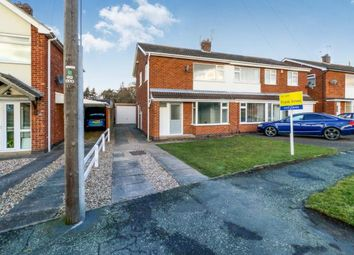 Thumbnail Semi-detached house for sale in Thirlmere Drive, Loughborough, Leicestershire