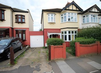 Thumbnail 3 bed semi-detached house to rent in Glebelands Avenue, Ilford