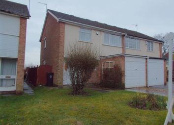 Thumbnail 3 bedroom semi-detached house for sale in Whitley Close, Leicester, Leicestershire