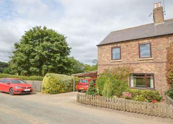 Thumbnail 2 bed semi-detached house for sale in East Knapton, Malton