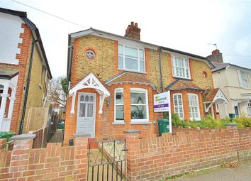 Thumbnail 3 bed semi-detached house for sale in Ruskin Road, Staines Upon Thames