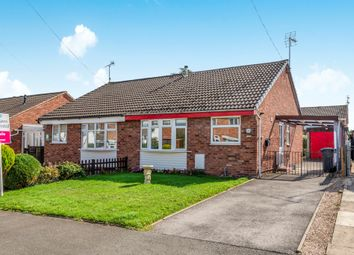 Thumbnail 2 bed semi-detached bungalow for sale in Shipton Drive, Uttoxeter
