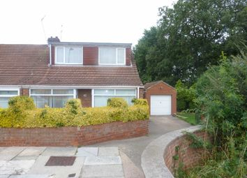 Thumbnail 4 bedroom semi-detached bungalow for sale in Carmel Gardens, Middlesbrough