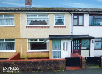 Thumbnail 3 bed terraced house for sale in Tan Y Bryn, Rhymney, Tredegar, Caerphilly