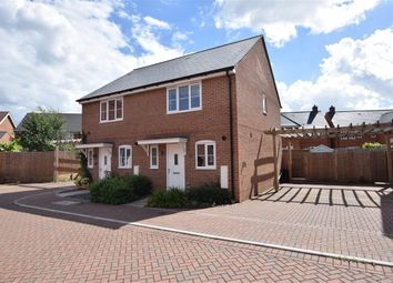 Thumbnail 2 bedroom semi-detached house to rent in Roe Gardens, Three Mile Cross, Reading