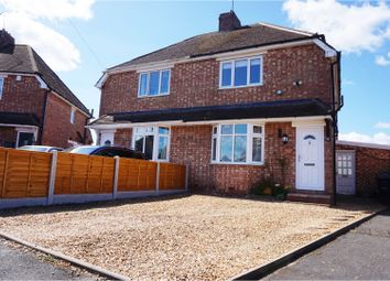 Thumbnail 2 bedroom semi-detached house for sale in Alexander Road, Bilbrook, Wolverhampton