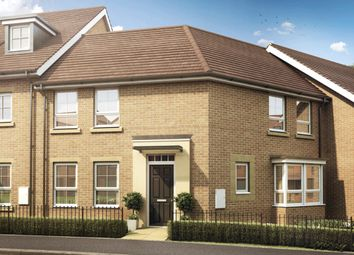 "Thumbnail 3 bedroom semi-detached house for sale in ""Faringdon"" at Knights Way, St. Ives, Huntingdon"