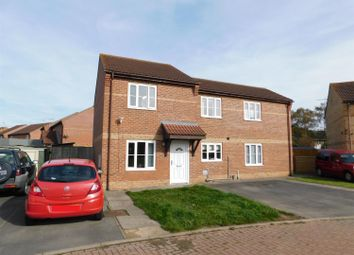 Thumbnail 2 bed semi-detached house for sale in Elder Close, Skegness