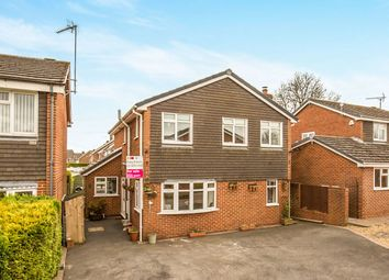 Thumbnail 4 bed detached house for sale in Poplar Crescent, Ashbourne
